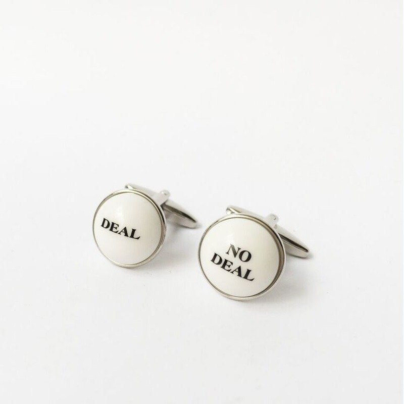 """Deal or No Deal"" Cufflink"