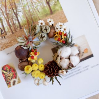 To be continued | General Fruit Dry Flower Mini Palm Wreath Shooting props Wall Decorations Gifts Gifts Wedding Arrangements Office Small Objects Home Exchange Gifts Christmas Spot