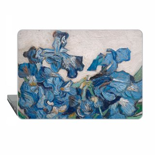 MacBook case MacBook Air MacBook Pro Retina van Gogh irises MacBook Pro art 1835