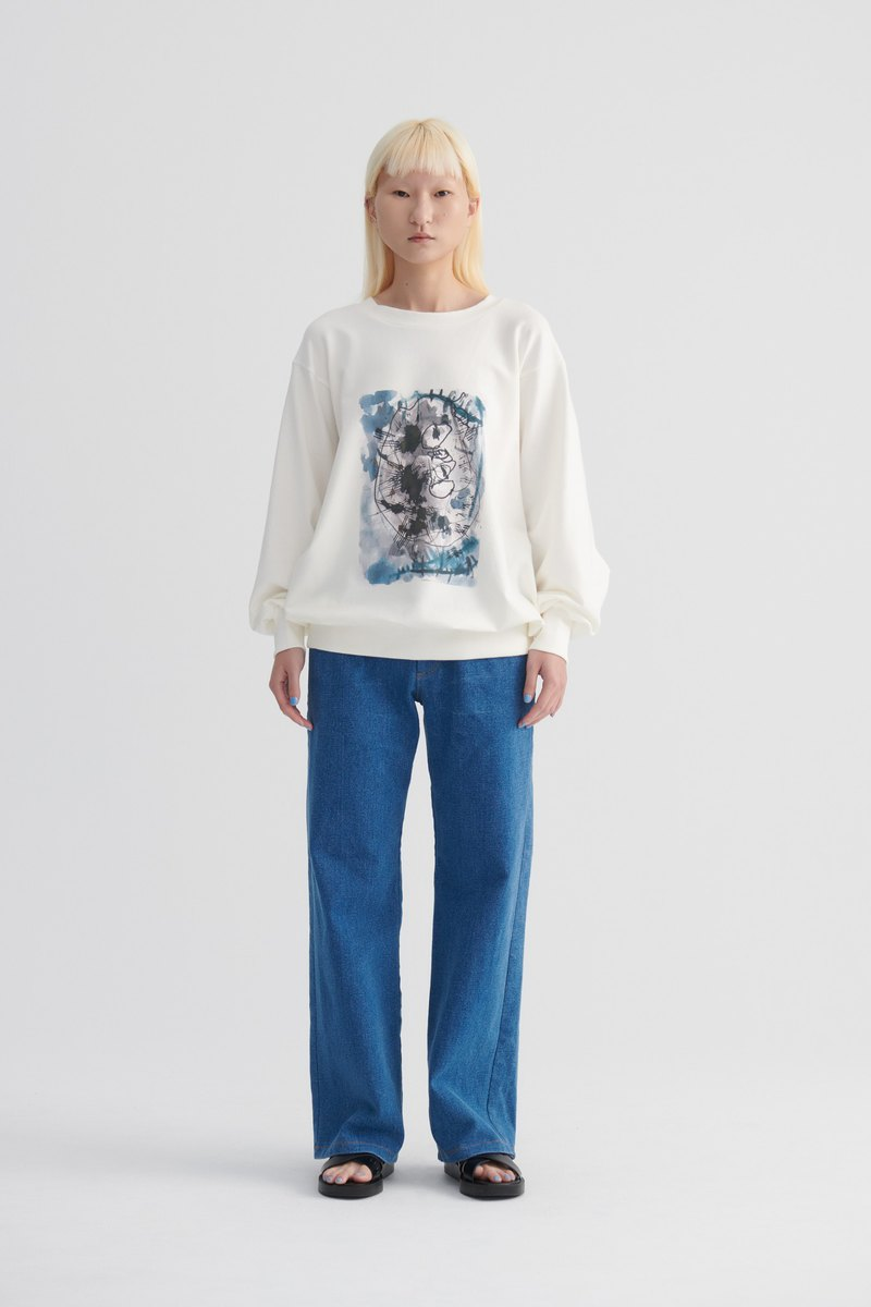 Shan Yong Minimalist Straight Denim Pants