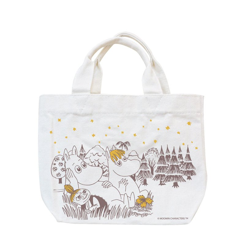Moomin 噜噜米 authorized - Tote bag - [A Midsummer Night], AE01