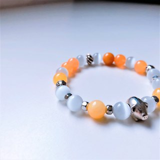 Pig Pork Year of the Chrysanthemum Opal Bracelet Bracelet