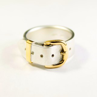 Belt Ring cute SV 8mm