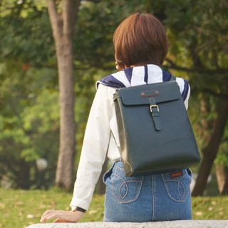 After Guillaume backpack shoulder bag hand-tanned leather can be customized