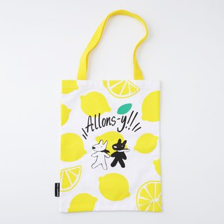 Lisa and Casper Canvas Tote Bag - Allons-y!