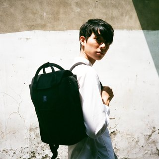 Canvas backpack _ black (in stock)