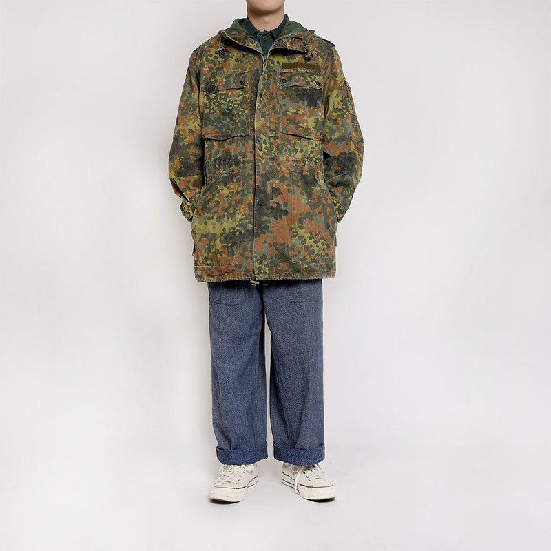 Germany Flecktarn Camo Field Parka