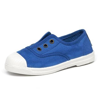 Spanish handmade canvas shoes / 470 three-hole classic / children's shoes / sky blue