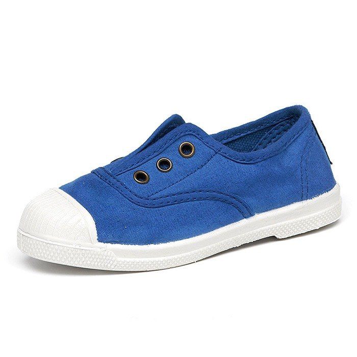 Spanish handmade canvas shoes / 470 three-hole classic / children's shoes / 516 sky blue