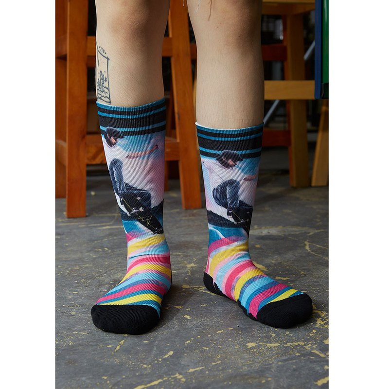 California Dream Collection Stylish Sports Socks