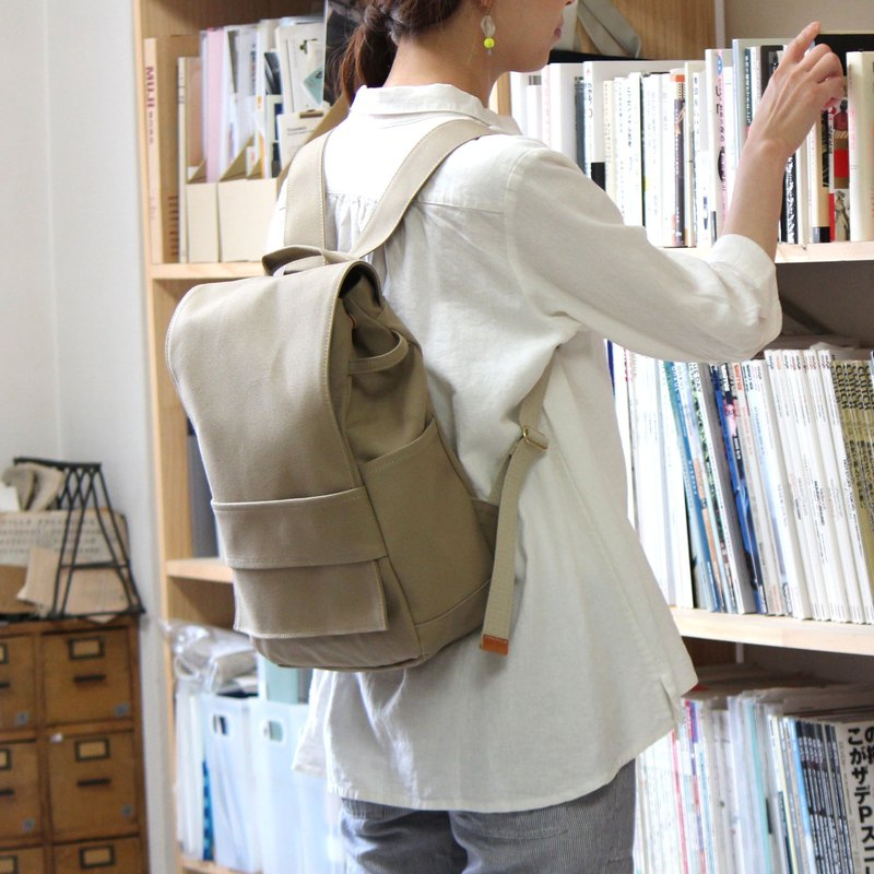 loiter: Sabure Kurashiki Canvas Backpack