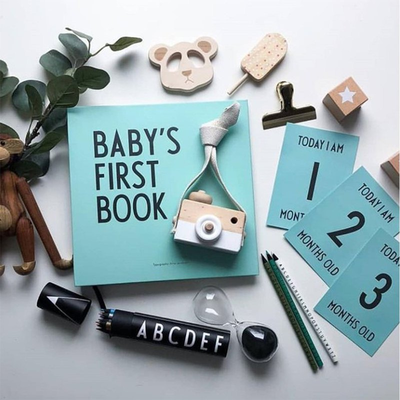 Baby growth record book