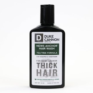 Duke Cannon Tea Tree Shampoo