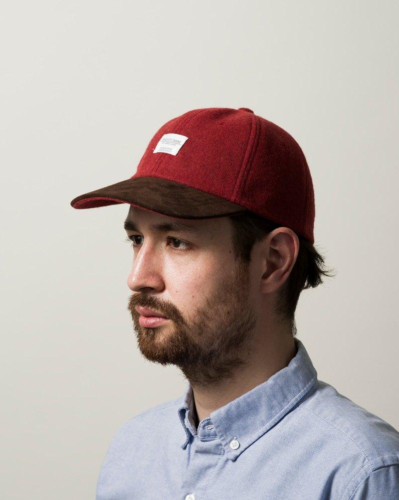 Japanese goat leather hat along baseball cap - RUTH - Designer MACHISMO  ad0f2065dd54