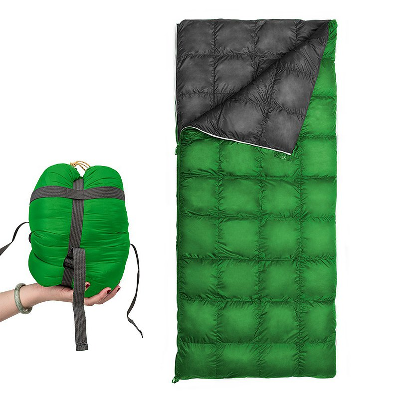 【Outdoorbase】 DownLike Quilt Sleeping Bag 800g -24776