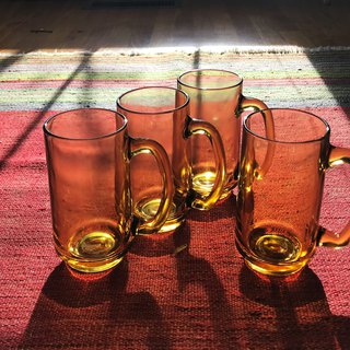 Yellow Beer Sea / Beer Glass Cup