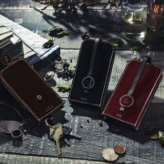 Negroni - Leather Wallets - dark red