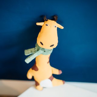 [Tail and me] stuffed toy giraffe Mason