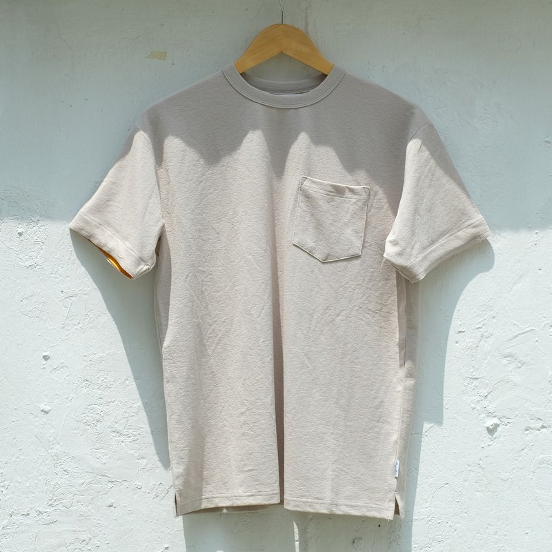Wide Cut Pocket Tee /cotton/shirt/henley