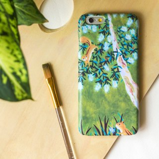 The most adorable moment between those squirrels. Matte Case (iPhone, HTC, Samsung, Sony)