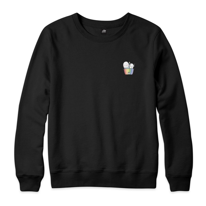 Rainbow Electric Cooker-Black-Unisex University T