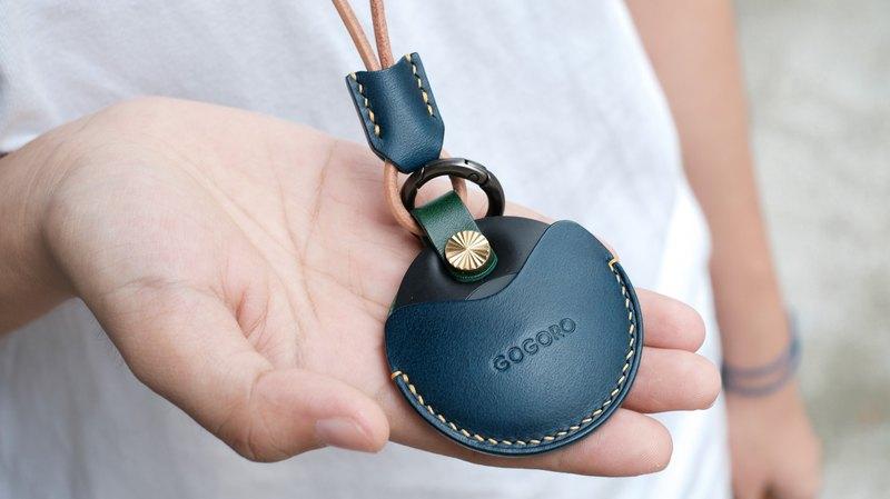 gogoro/gogoro2 EC-05 鑰匙皮套 /Buttero 綠藍跳色頸掛組