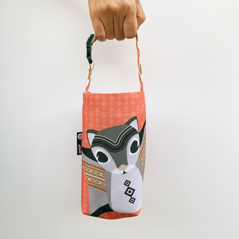 [Forest Animal Series] Q version of the flying mouse universal beverage bag