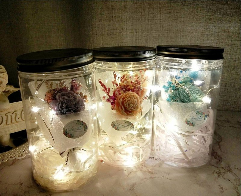 [Blue core hand made] Starlight bouquet jar, dry bouquet, graduation bouquet, birthday present, opening ceremony