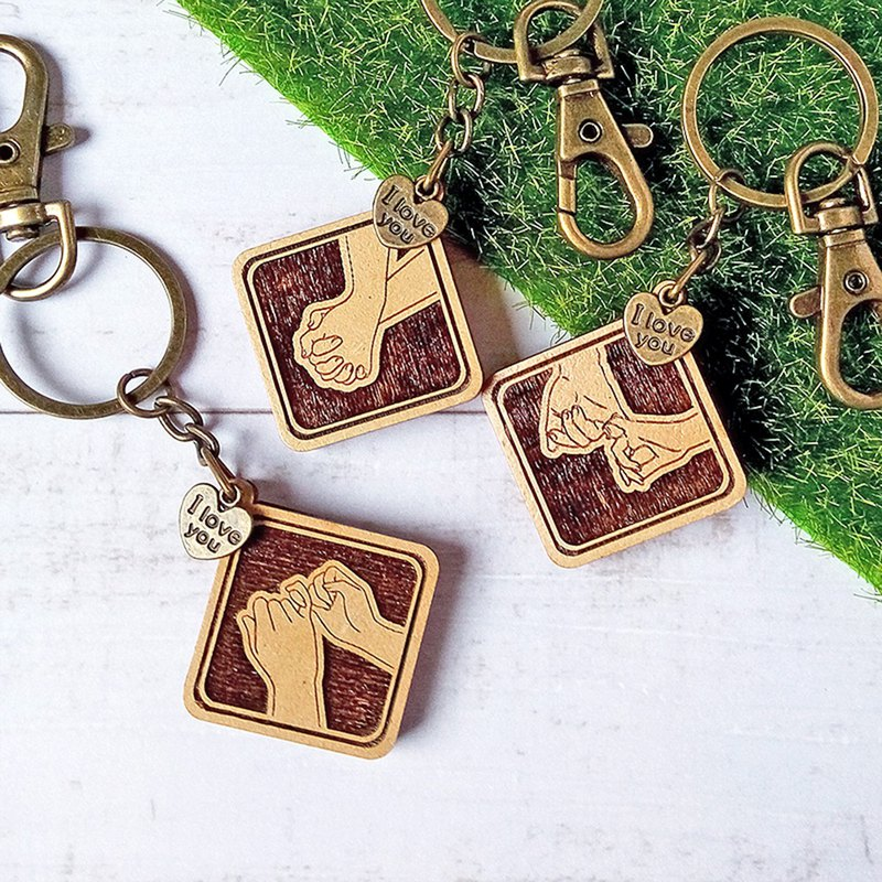 Holding Hands Series Key Ring-Couples, Handmade, Valentine's Day Gifts