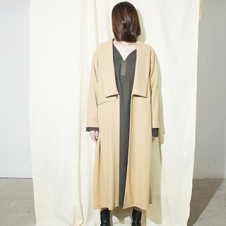 Side Vent long wool coat AXOXYXOXS