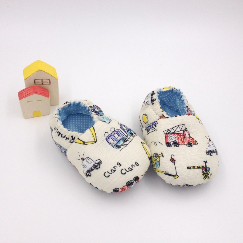 Wax car world - toddler shoes / baby shoes / baby shoes