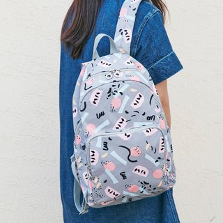 7321 Design BBH Graffiti Canvas Backpack - Colorful Fruit, 73D88278