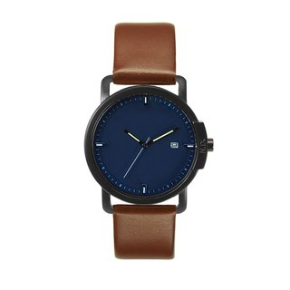 Minimal Watches : Ocean Project - Ocean 06-Navy (Brown)