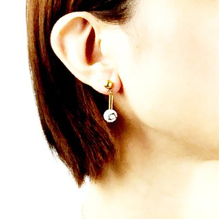 Small Department Earrings #12