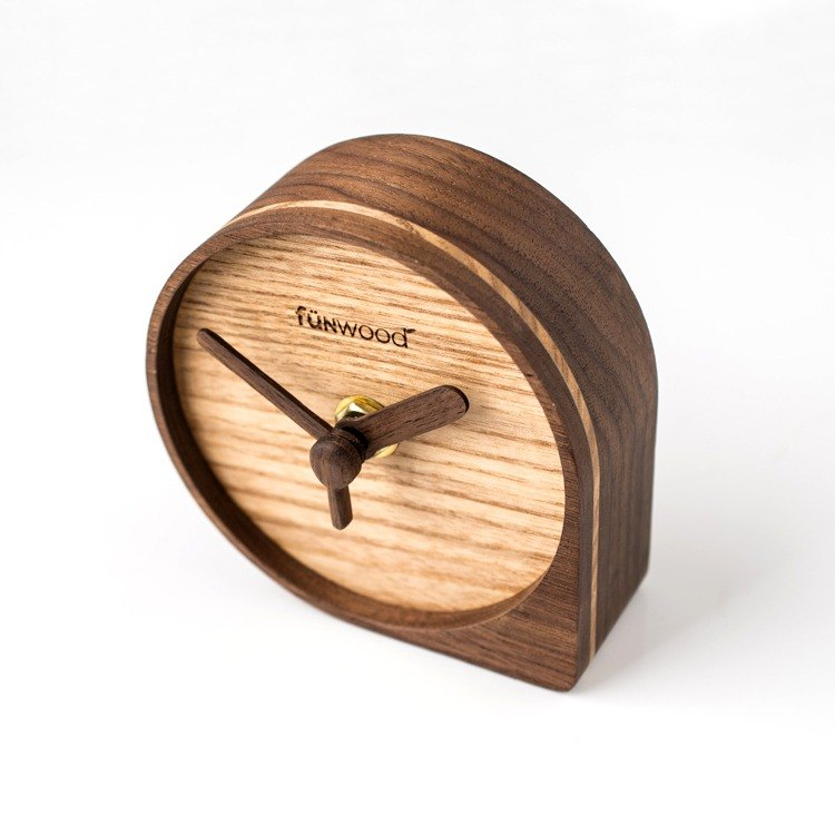 fünwood │ Wooden Clock