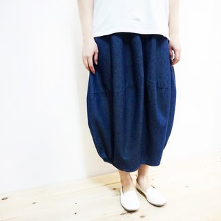 [MIT] Qi Wu eight 〇x elastic cotton bud skirt seven (tannins)