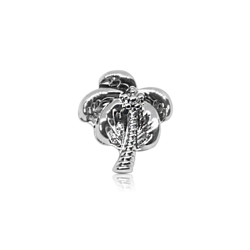Holley HOURRAE [Dream Summer Coconut Tree] Elegant Silver Series Trinkets