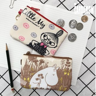 [MOOMIN 噜噜 米]Retro color ticket card purse ・Genuine authorized card International