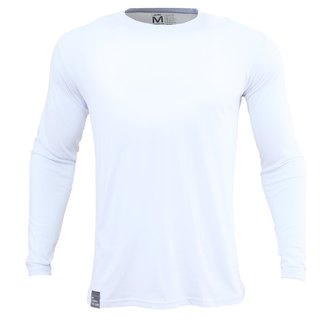 ✛ tools ✛ male version Qingshu cotton round neck long-sleeved white T # comfort :: :: :: skin-friendly cotton