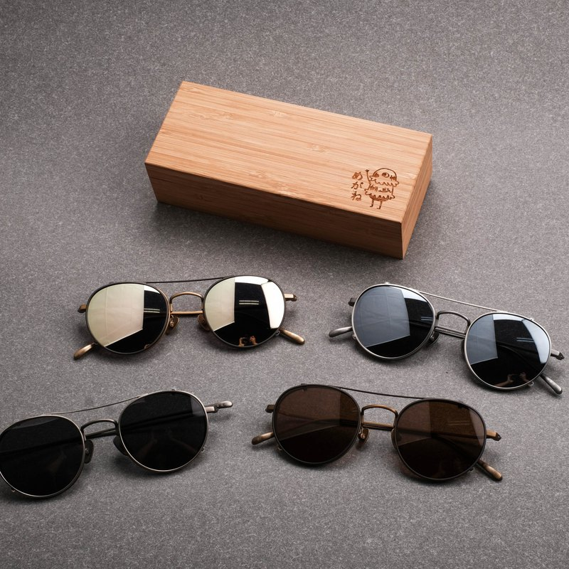 New version of titanium frame special clip 4 color black gray / brown / pink green / mercury pure sunglasses clip