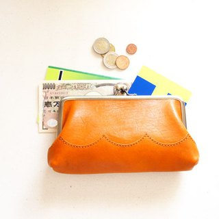 wave Long Wallet Natural (Camel)