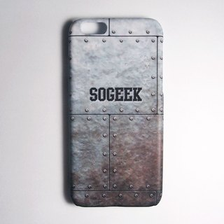 SO GEEK phone shell design brand THE IRON GEEK steel defend subsection