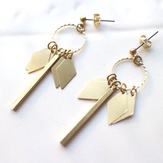 Gypsy-Brass earrings