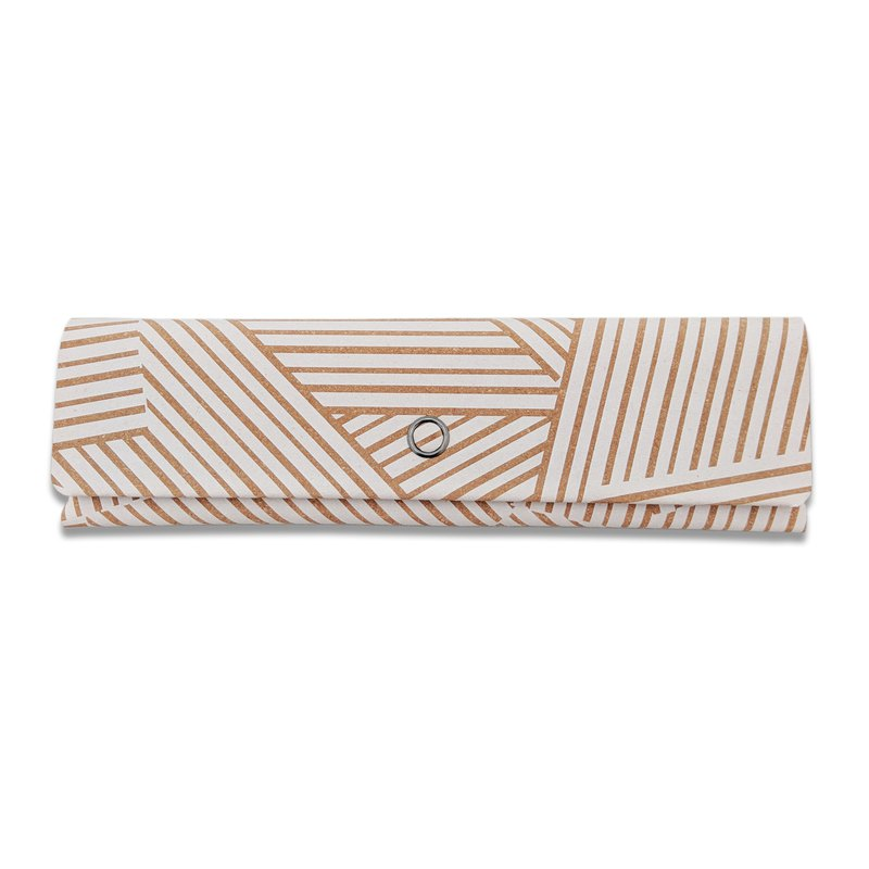Arden camouflage white pencil case small