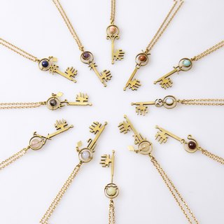 ZODIAC THIN CHAIN NECKLACE