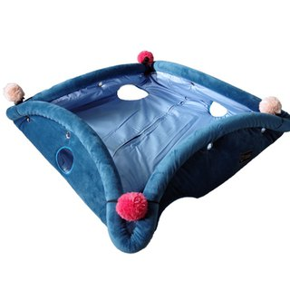 [Hide&Seek hides a variety of pet mats] - Blueberry pie bed / cat tunnel / pet mat
