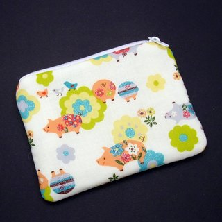 Zipper pouch / coin purse (padded) (ZS-184)