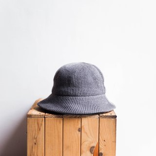 Heshui Mountain - Wakayama warm three-dimensional weave pattern independent gray antique plain weave lady hat picture hat