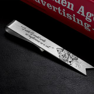 Personalized Bookmark - Cat bookmark silver 925 - Engraved Bookmark
