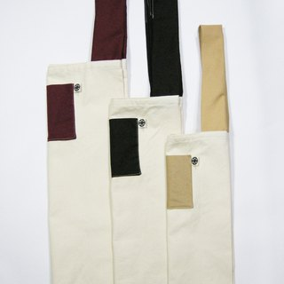 Green shopping bag (canvas cloth + canvas) __ zuo zuo handmade gift gift (1 /)